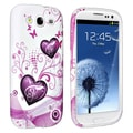 BasAcc Pink Heart TPU Case for Samsung Galaxy S III/ S3