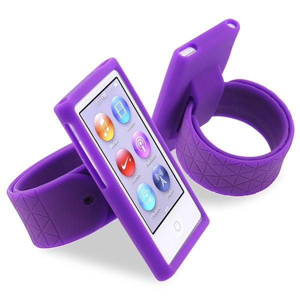 BasAcc Purple Silicone Watchband for Apple® iPod nano Generation 7