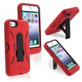 BasAcc Black/ Red Hybrid Case for Apple® iPhone 5/ 5S