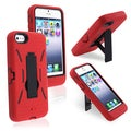 BasAcc Black/ Red Hybrid Case for Apple iPhone 5