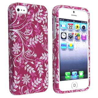 BasAcc Purple Snap-on Rubber Coated Case for Apple� iPhone 5