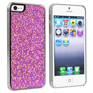 BasAcc Purple Bling Snap-on Case for Apple� iPhone 5