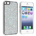 BasAcc Silver Bling Snap-on Case for Apple iPhone 5