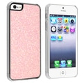 BasAcc Light Pink Bling Snap-on Case for Apple iPhone 5