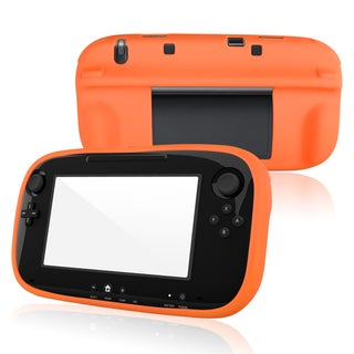 BasAcc Orange Silicone Skin Case for Nintendo Wii U