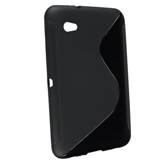 BasAcc Black S Shape TPU Case for Samsung Galaxy Tab 2 7/ P3100/ P6200