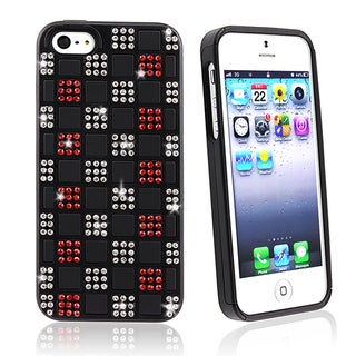 BasAcc Black/ Black Hybrid Case for Apple iPhone 5