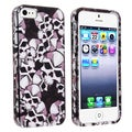 BasAcc Black Skull Snap-on Case for Apple iPhone 5/ 5S