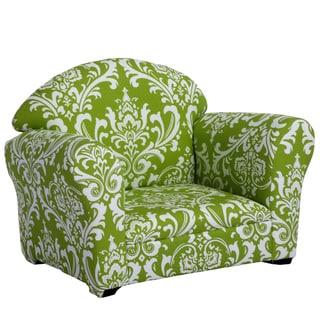 Christopher Knight Home Valentine Kids' Green/ White Club Chair