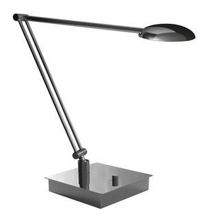 Mondoluz Vital Chromium 1-light Double Arm Table Lamp