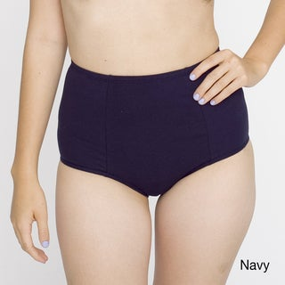 American Apparel Women's Cotton Spandex Jersey High-Waist Brief