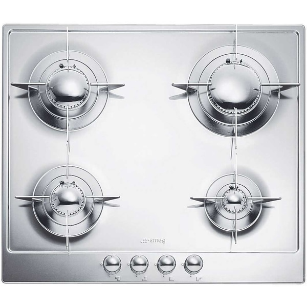 Smeg PU64 Piano Design 24-inch Stainless Steel Gas Cooktop