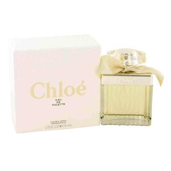 Chloe (New) Women's 2.5-ounce Eau de Toilette Spray