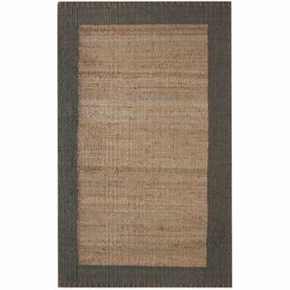 nuLOOM Handmade Texture Stockholm Jute Rug (7'6 x 9'6)