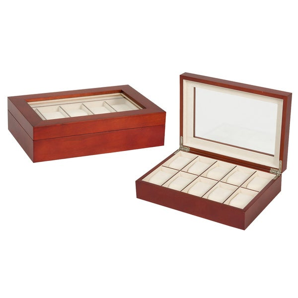 Seya Cherry 10-slot Watch Box