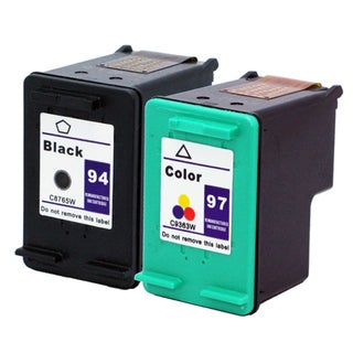 HP Remanufactured 94/97 Black/Color Ink Cartridges (Pack of 2)