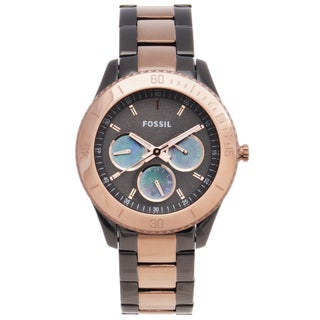 Fossil Women's Two-tone Steel 'Stella' Watch