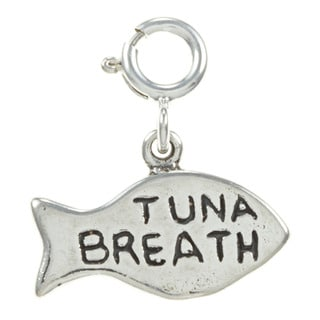 Sterling Silver Tuna Breath Charm