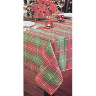 Christmas Plaid Printed Tablecloth