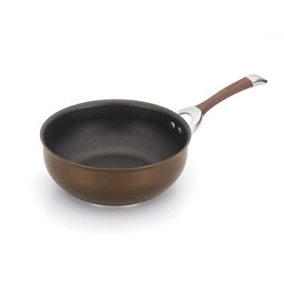 Circulon Symmetry Chocolate 4.5-quart Chef Pan