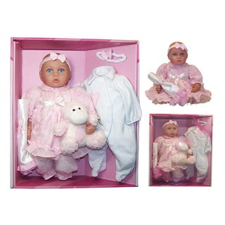 Me and Molly P. 16-inch 'Camille' Baby Doll and Acessory Set