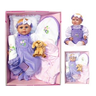Me and Molly P. 18-inch 'Rachel' Baby Doll and Accessory Set