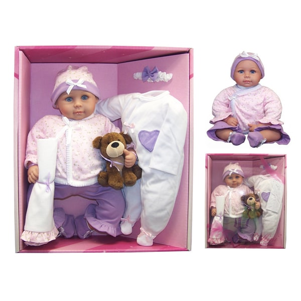 Me and Molly P. 16-inch 'Emily' Baby Doll and Accessory Set