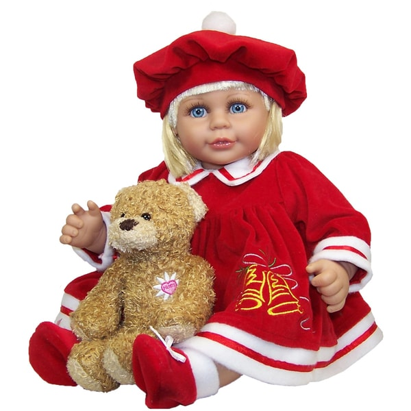 Me and Molly P. 18-inch 'Merry' Doll and Bear Toy