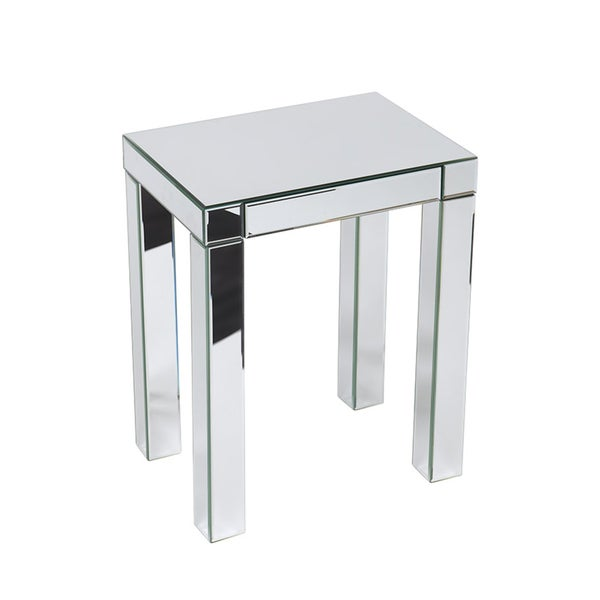 Ave Six 39 Reflections 39 Mirrored Accent Table 14916215