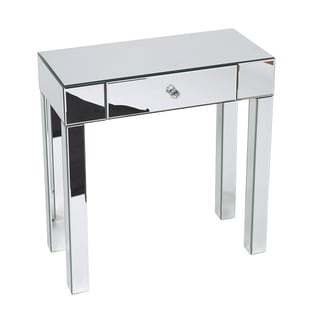 Ave Six 'Reflections' Mirrored Foyer Table