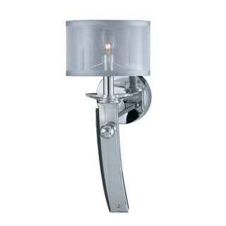 Triarch International Plated Chrome Wall Sconce