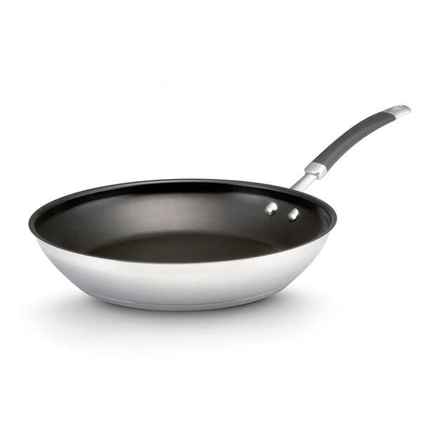 KitchenAid Stainless Steel 12.5-inch Nonstick Open Skillet