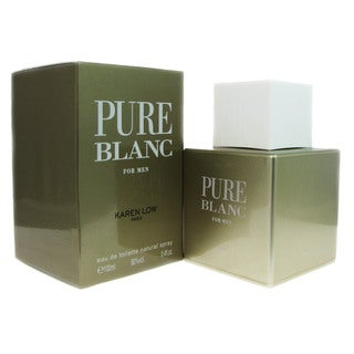 Karen Low 'Pure Blanc' Men's 3.4-ounce Eau de Toilette Spray