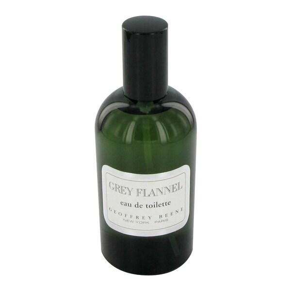 Geoffrey Beene Grey Flannel Men's 4-ounce Eau de Toilette Spray (Unboxed)