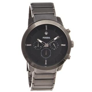 Fossil Men's Gunmetal Stainless Steel Watch