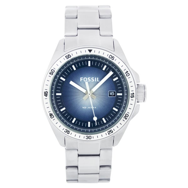 Fossil Men's Stainless Steel Date Watch