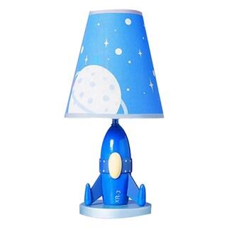 Cal Lighting Kids Rocket Ship Table Lamp