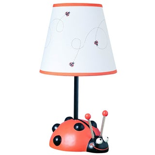 Cal Lighting Kids Ladybug Table Lamp