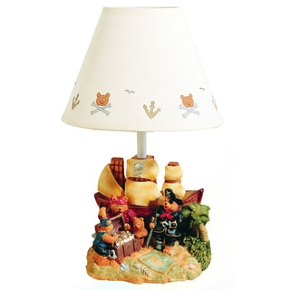Cal Lighting Kids Treasure Island Table Lamp