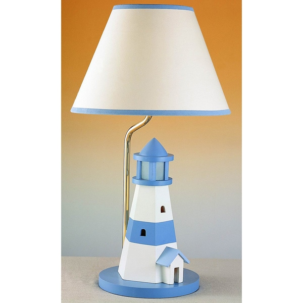 Cal Lighting Kids Lighthouse Table Lamp