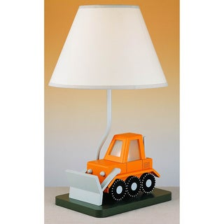 Cal Lighting Kids Bulldozer Table Lamp