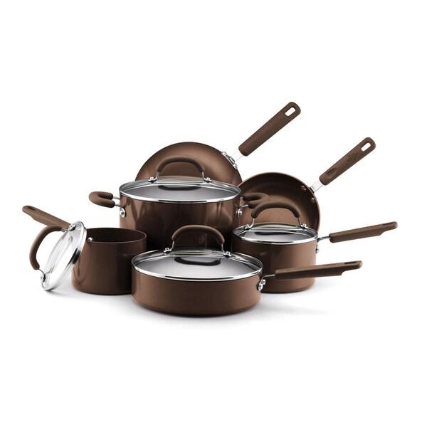 EarthPan II 10-piece Espresso Cookware Set