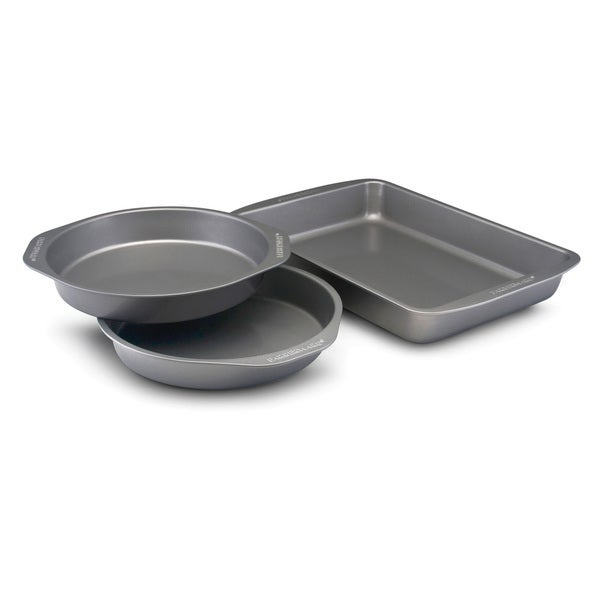 Farberware Bakeware 3-piece Cake Pan Set