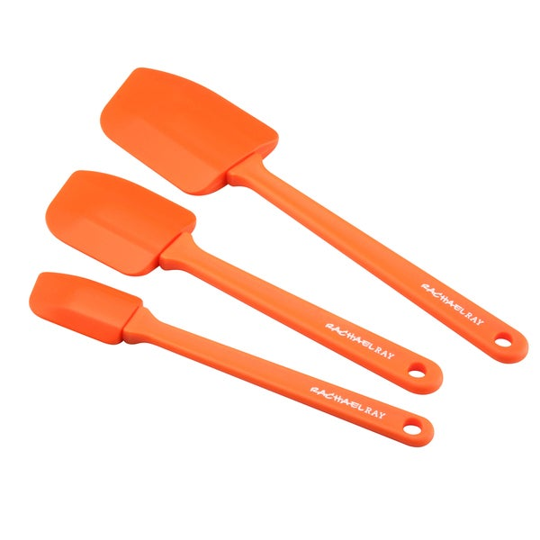 Rachael Ray Tools 'Lil' Devils' Orange 3-piece Spatula Set 10168524