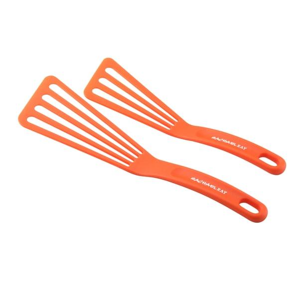 Rachael Ray Tools 'Turners' Orange 2-piece Spatula Set