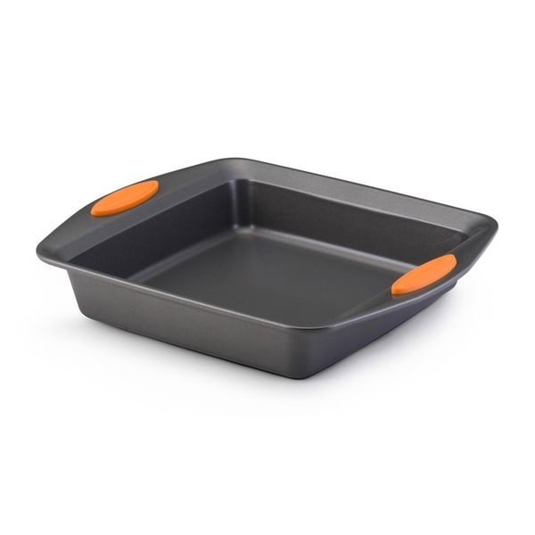 Rachael Ray Bakeware Oven Lovin' Square 9-inch by 9-inch Square Cake Pan