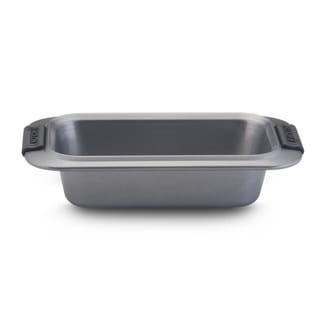 Anolon Advanced Bakeware 9-inch by 5-inch Loaf Pan, Grey