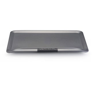 Anolon Advanced Bakeware 14-inch by 16-inch Cookie Sheet, Grey