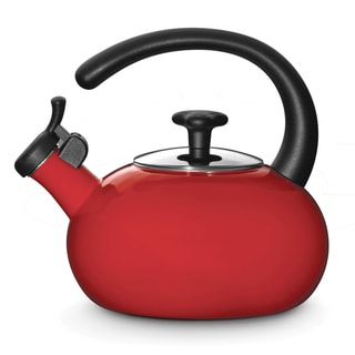 Rachael Ray Red 1.5-quart Tea Kettle