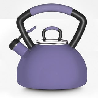 KitchenAid Lilac Porcelain Enamel Whistling 2.25-quart Tea Kettle
